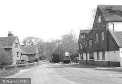 The Kings Arms And Main Street c.1955, Ockley