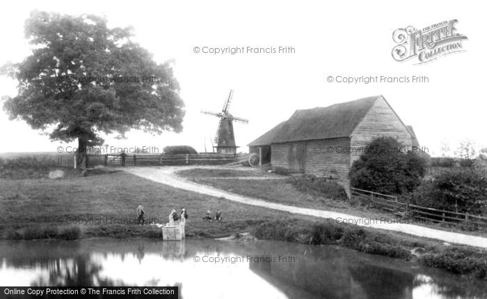 Ockley,the Windmill 1906,Surrey