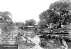 Odiham, Canal Wharf 1906