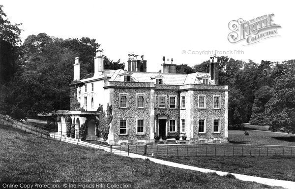 Offham, Coombe Place 1898