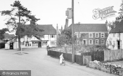 Offham, Post Office Corner c.1955
