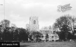 Offord Cluny, All Saints Church c.1960