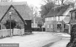 Offord Darcy, High Street 1906, Offord D'Arcy