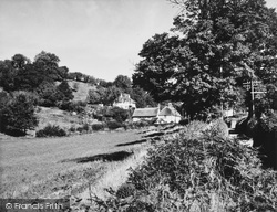 The Lower Village c.1960, Offwell