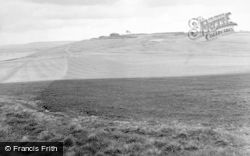 Ogbourne St George, Barbury Castle 1950