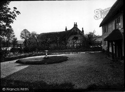 Ogbourne St George, Thatch And Garden c.1955