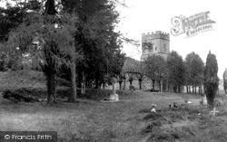 Ogbourne St George, The Church Of St George c.1955