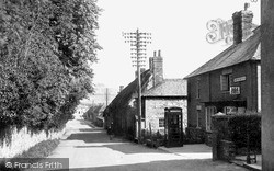 Ogbourne St George, The Post Office c.1955