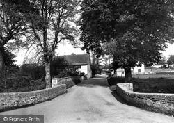 Ogbourne St George, The Village c.1955