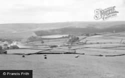 The Reservoir From Soil Hill c.1960, Ogden