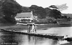 Ogmore By Sea, Old Cottage And Stepping Stones 1937