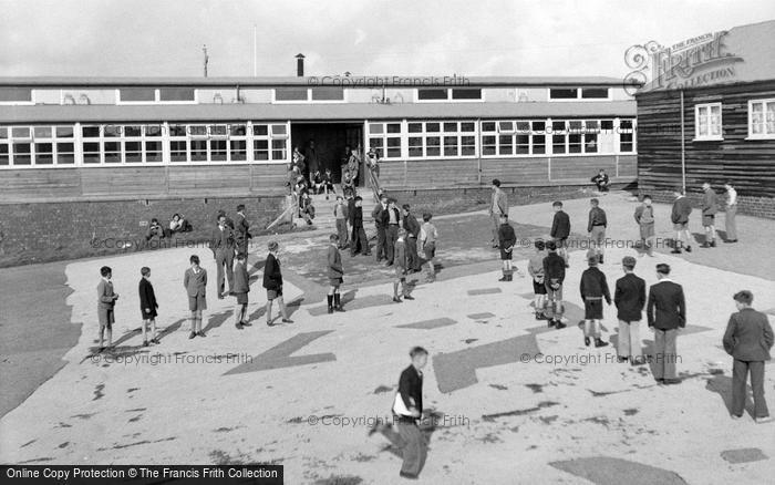 Photo of Ogmore By Sea, School Camp, Organised Games 1950