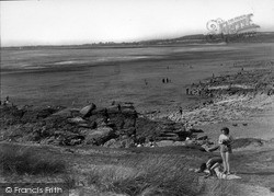 Ogmore By Sea, The Beach c.1939