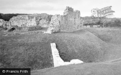 Ogmore By Sea, The Castle 1949