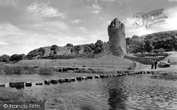 Ogmore By Sea, The Castle c.1961