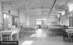 Ogmore By Sea, The School Camp, Dining Hall 1950