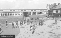 Ogmore By Sea, The School Camp, Playground And Dining Hall 1950