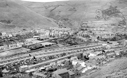 Ogmore Vale, General View c.1955