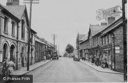 Ogmore Vale, High Street 1950