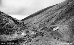 Ogmore Vale, Mountain Scene c.1955