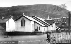 Ogmore Vale, St John's Church c.1955