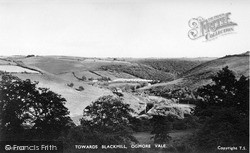 Ogmore Vale, Towards Blackmill c.1955