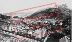 Ogmore Vale, Valley From Caedu c.1955