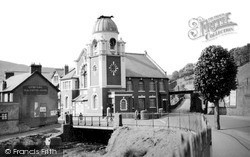 Ogmore Vale, Workmen's Hall c.1955