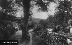 Approach To Lovers' Meet 1904, Okehampton
