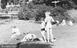 Bathing At West Okement River c.1960, Okehampton