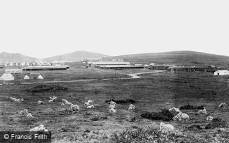 Okehampton, Camp on the Moors 1893