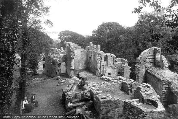 Okehampton, Castle 1912