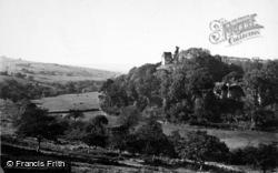 Castle And Park 1890, Okehampton