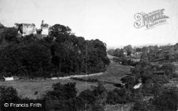 Castle And Town 1890, Okehampton