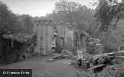 Castle, The Chapel c.1955, Okehampton