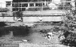 Children In West Okement River c.1960, Okehampton