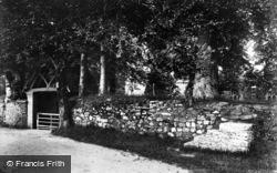 Church Gate And Old Mounting Steps 1906, Okehampton
