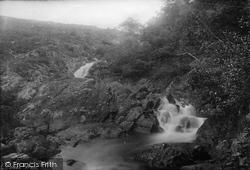 Okehampton, Falls On Dartmoor 1891