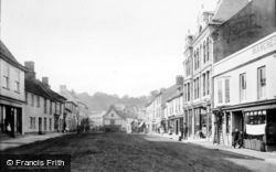 Fore Street 1890, Okehampton