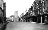 Okehampton, Fore Street 1895