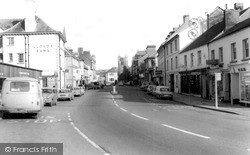 Okehampton, Fore Street 1968