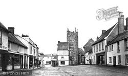 Okehampton, Fore Street c.1871