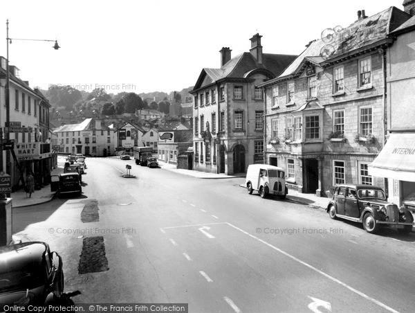 Photo of Okehampton, Fore Street c.1955