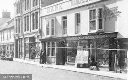 Fore Street, Draper's Shop 1895, Okehampton