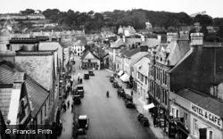 Okehampton, Fore Street From Church Tower 1929