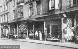 Fore Street Shopfronts 1900, Okehampton