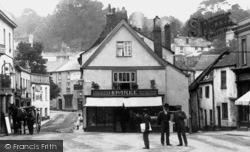 Fore Street, Sparke's Butchers 1906, Okehampton