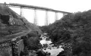 Okehampton, Meldon Viaduct 1906