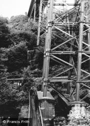 Meldon Viaduct And Valley c.1965, Okehampton