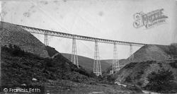 Okehampton, Meldon Viaduct c.1874